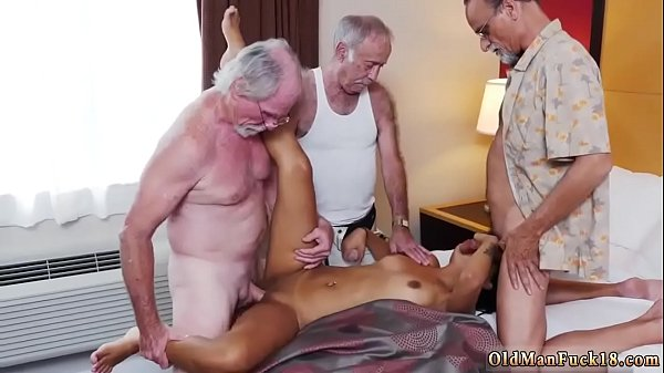 Old, Spank girls, Old and young