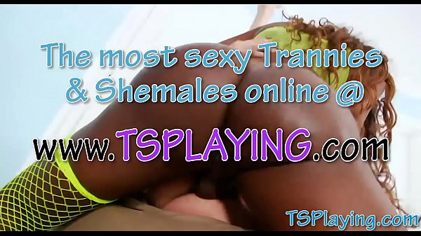 Shemale anal, Nasty anal, Ebony shemale