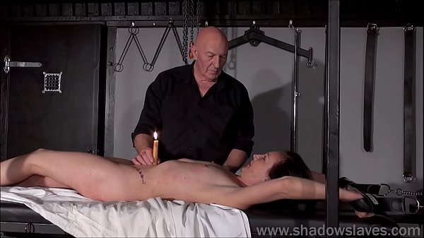 Tied, Bdsm amateur, Master, Dungeon, Candle