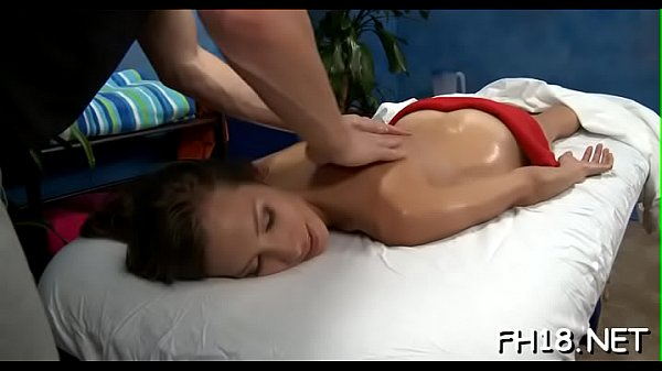 Massage and fuck, Hard fucking