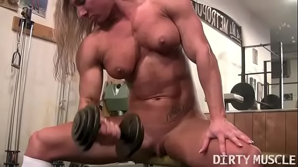 Clit, Big clit, Female bodybuilder, Bodybuilder