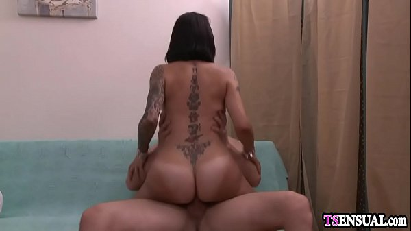 Shemales, Oil, Oiled, Oil anal, Anal massage
