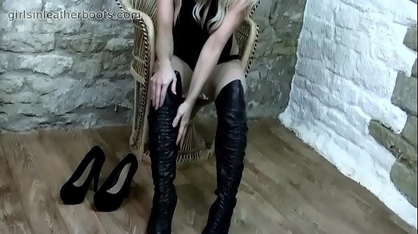 Boots, Leather, Leather boots