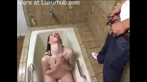 Piss drink, Drinking, Piss drinking, Teen pissing, Bath, Teen slave