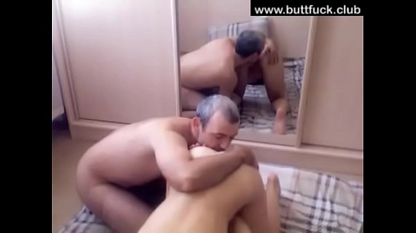 Young girl, Old anal