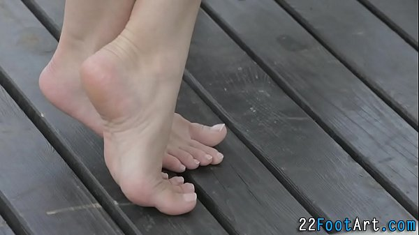 Feet, Cum covered