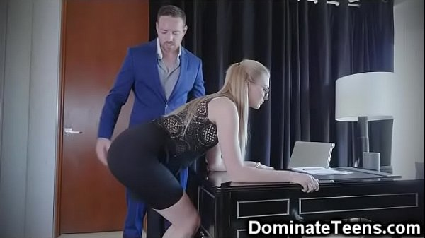 Spanking, Secretary, Throat