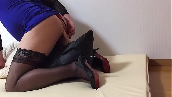 Stockings, Heels, Crossdresser