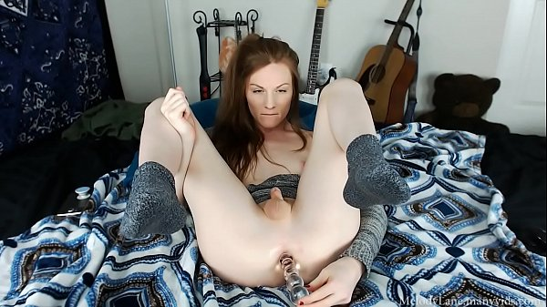 Melody, Ass to mouth, Sweater, Deep dildo