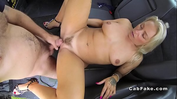 Taxi, Fake taxi, Hairy cock, Hairy blond, Big hairy pussy, Big hairy